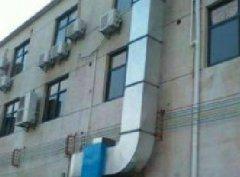 通风设备机壳与进气室的维护保养