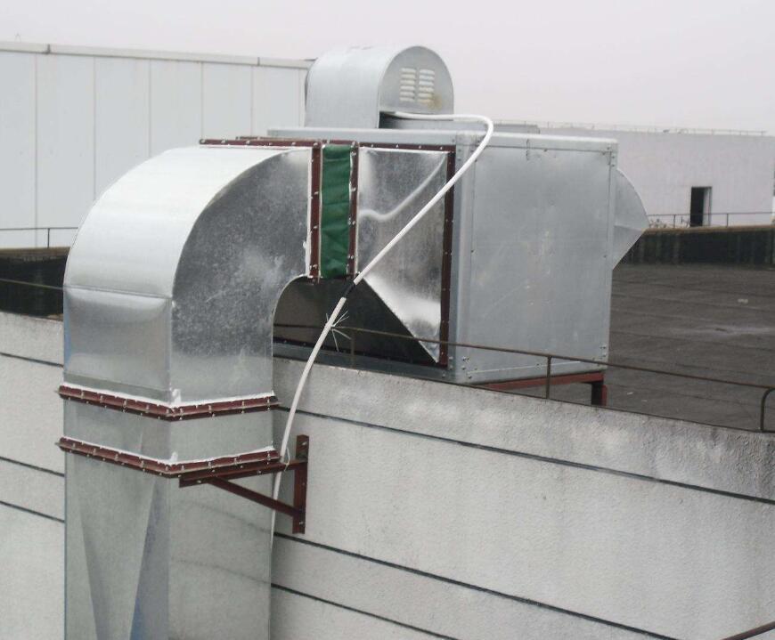 马鞍山通风排气工程中离心风机设计方案