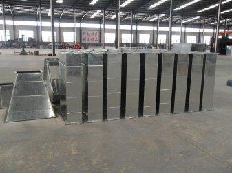 马鞍山厂房车间通风管道为焊接车间营造