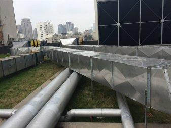 通风工程中管道安装要注意的方面