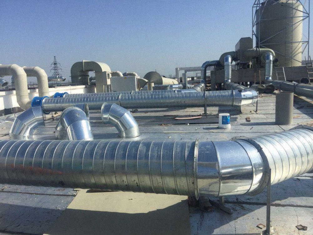 马鞍山工厂通风设备安装